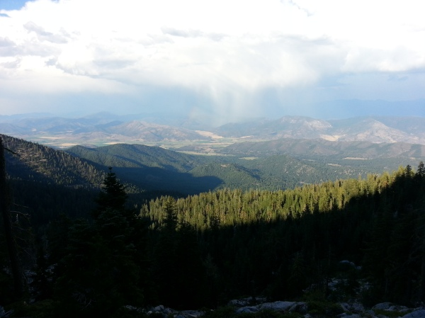 pacific crest trail 581