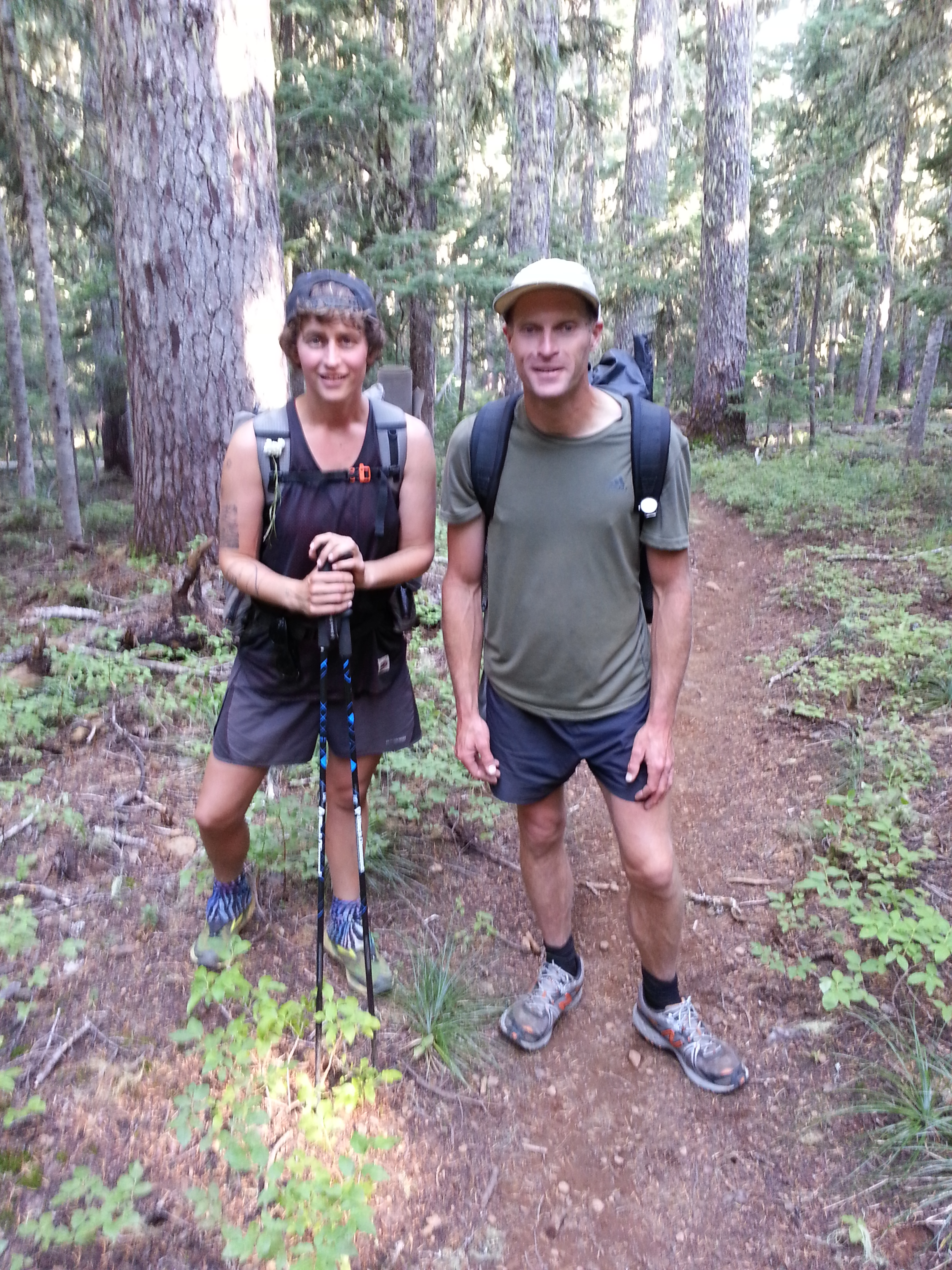 Pacific Crest Trail 3316 Me And Scott You Know