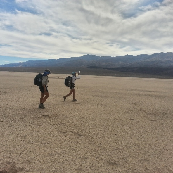 crossing the playa