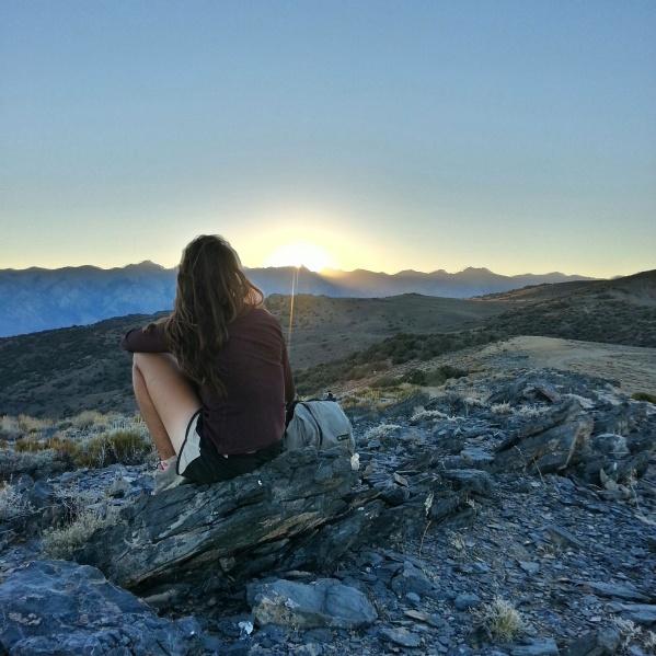 Inyo Mountains, watchin yo sun set.