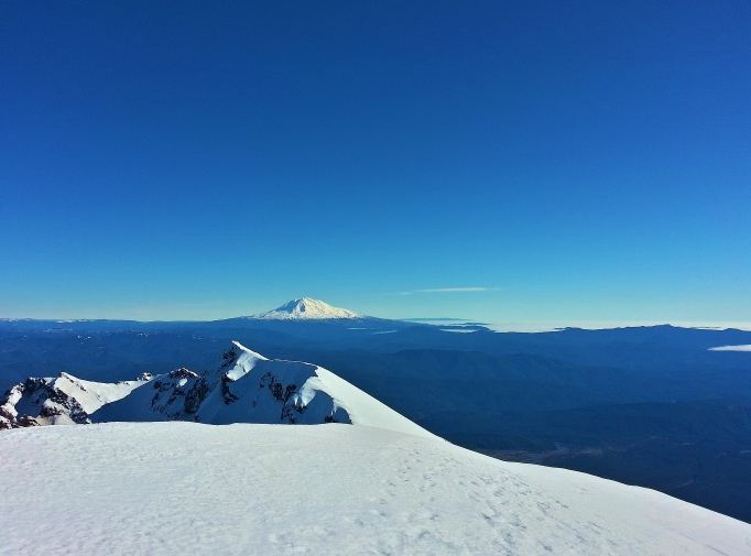 Mount Adams from the summit