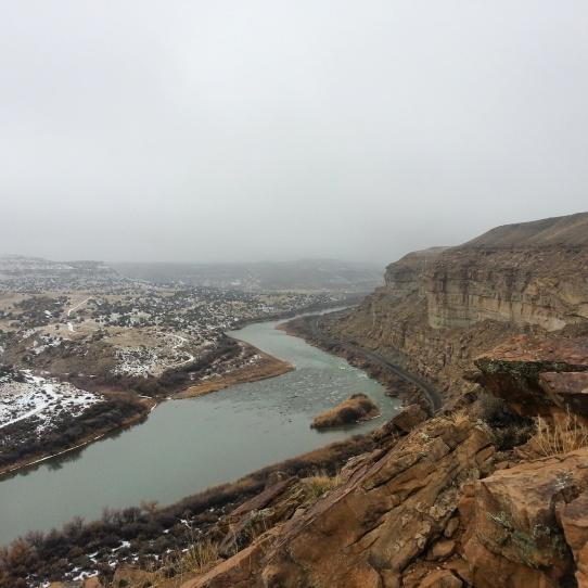 the Gunnison river