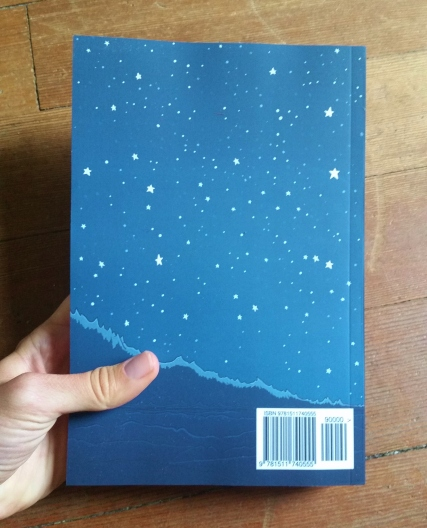 Just a nice looking back cover with some stars and an ISBN